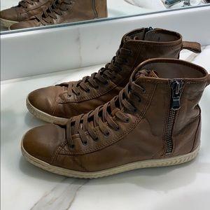 John Varvatos ⭐️ USA High-top zip sneakers